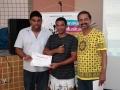 Oficina em Pavão -entrega de certificados