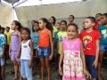 Passagem de som Coral Infantil - foto Carlos Farias