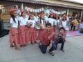 Almenara - crianças homenageiam as lavadeiras na escola Municipal Tinah Ripalta Menezes