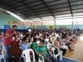 Rubim - ginasio lotado pro centenas de alunos