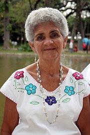 Lavadeira Adélia Silva