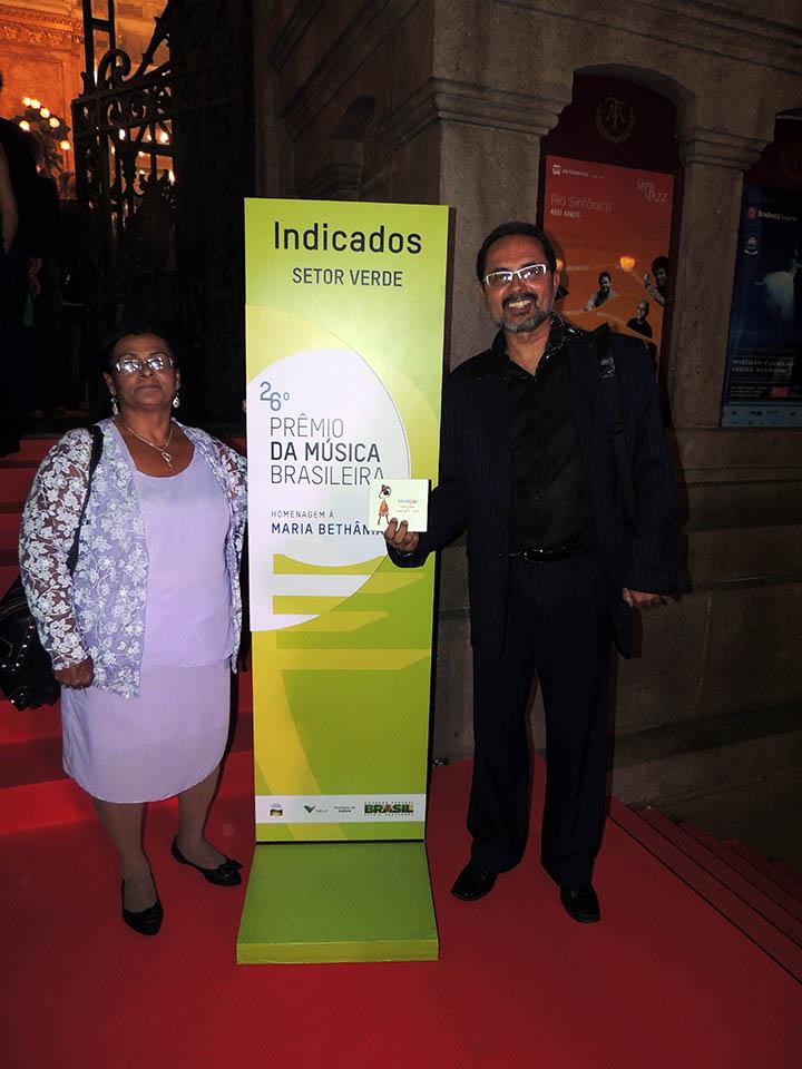 foto 3 - Carlos e Tereza no Rio