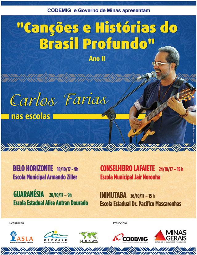 Carlos Farias nas escolas